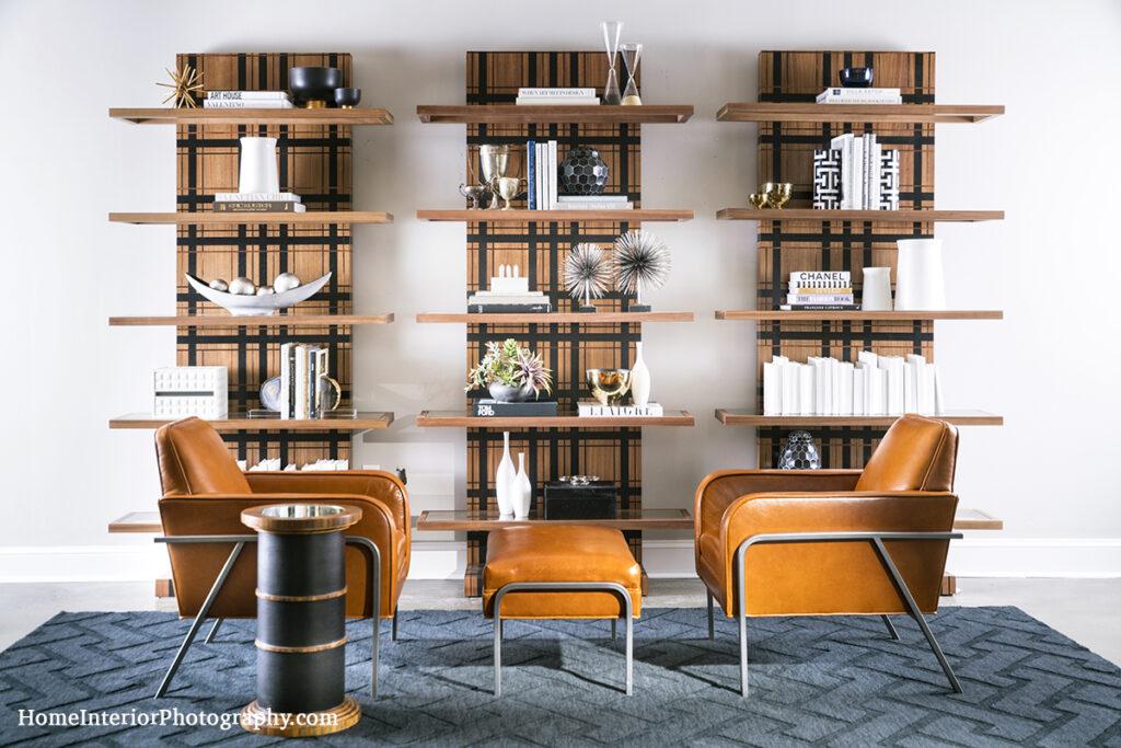 Modern Bookshelf - J Martin - design interior photography