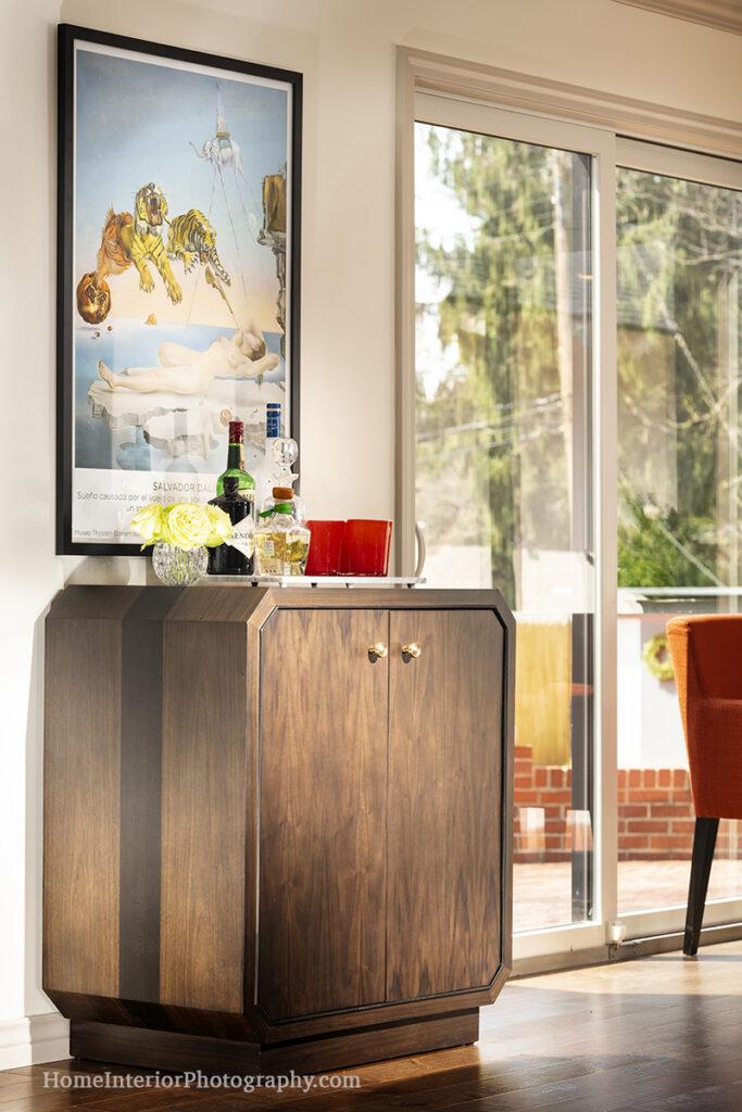 Mini Bar Detail - J Kent Martin - design interior photography