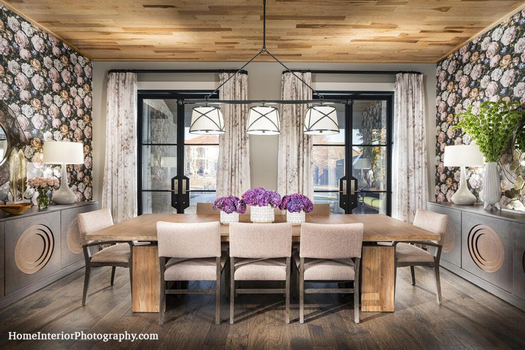 Modern Dining Room - Nathan Taylor - design interior photography