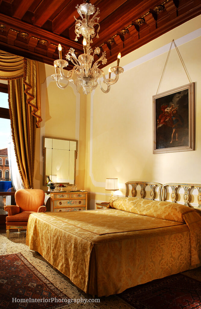 Gritti Palace Hotel Room Venice - design interior photography
