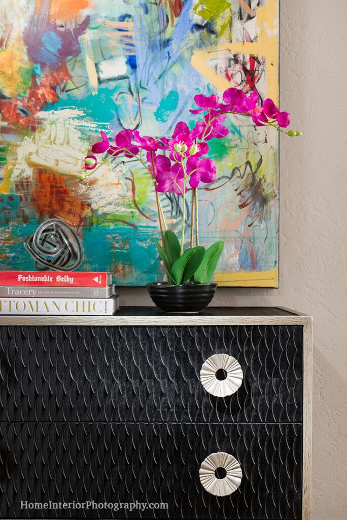 Black Dresser Detail - Nathan Taylor - design interior photography