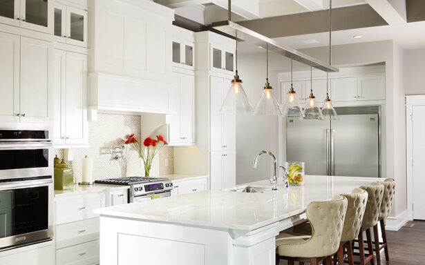 Clean White Kitchen - Nathan Taylor - design interior photography