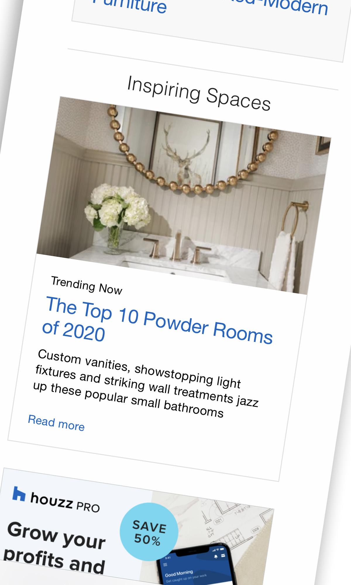 Top 10 Powder Room Photos on Houzz